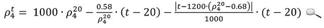 Определение плотности нефти и нефтепродуктов в кг и м3