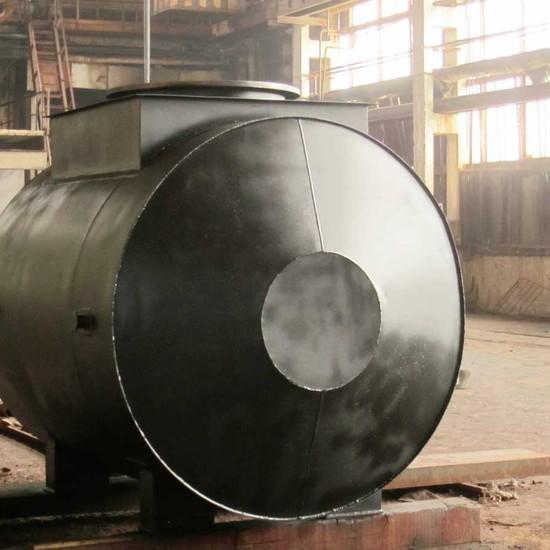 Горизонтальный стальной резервуар РГСП 150 м3