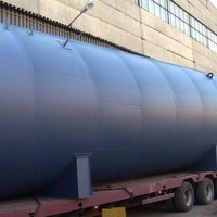 РГС 100: описание горизонтального стального резервуара