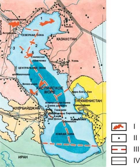 Каспийская нефть: история нефтяной промышленности региона
