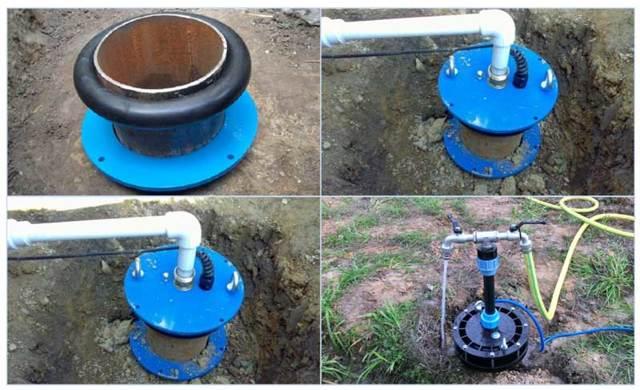 Схема обвязки нефтяной скважины: обвязка устья и кустов