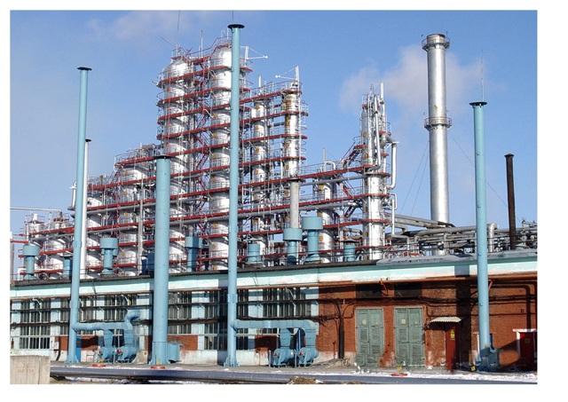 Нефть и производство нефтепродуктов: химическое производство