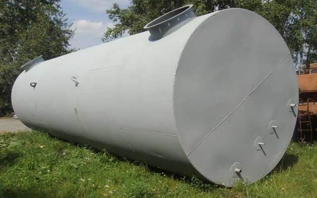 Горизонтальный стальной резервуар РГС 60