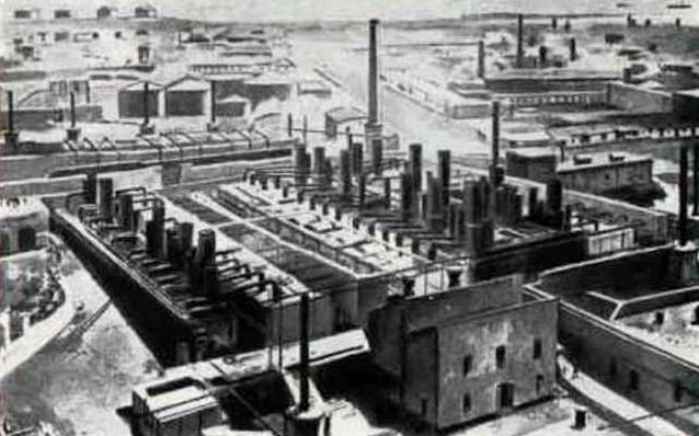 Первая в мире промышленная нефтяная скважина