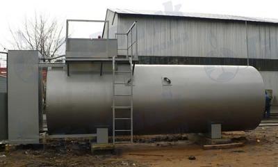 Производство горизонтальных резервуаров: изготовление РГС на заводе