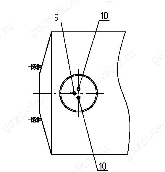 РГС 50 м3: характеристики горизонтального стального резервуара